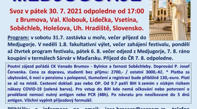 P. Josef Červenka zve do Medjugorje na Mladivest